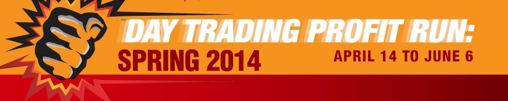 Day Trading Profit Run 2014