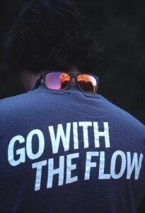 go with the flow of market direction