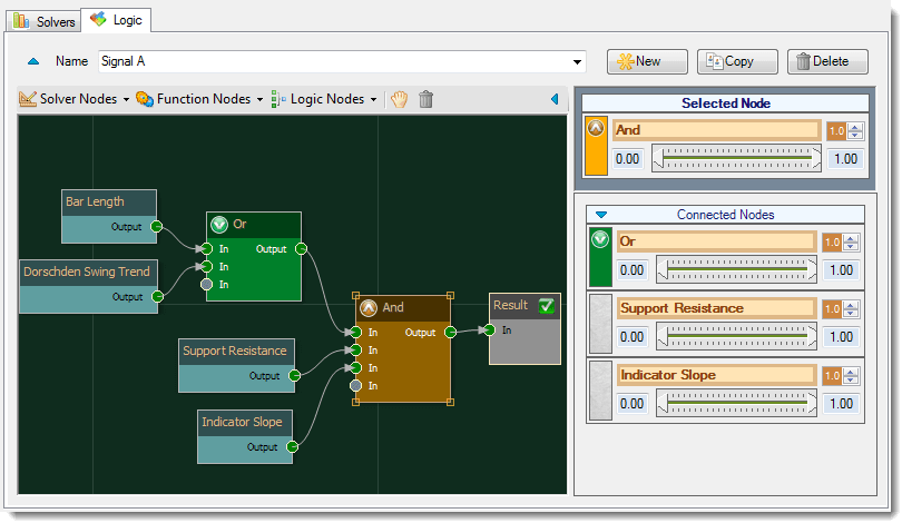 Bloodhound Drag and Drop System Builder